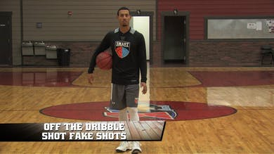 Off the Dribble Shot Fake Shots by Smart Basketball Training