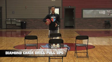 Diamond Chair Drill Pull Ups by Smart Basketball Training