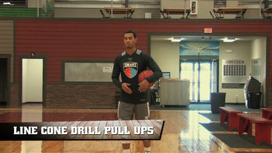 Line Cone Drill Pull Ups by Smart Basketball Training