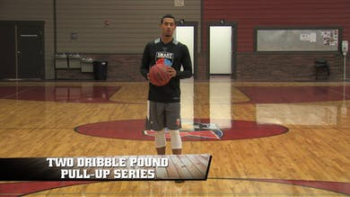 2 Dribble Pound Pull Ups by Smart Basketball Training