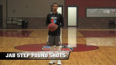Jab Step Pound Shots by Smart Basketball Training