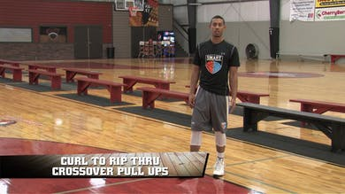 Curl to Rip Thru Crossover Pull Ups by Smart Basketball Training