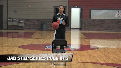 Jab Step Series Pull Ups by Smart Basketball Training