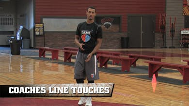 Coaches Line Touches by Smart Basketball Training