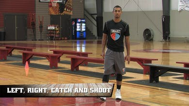 Left, Right, Catch and Shoot by Smart Basketball Training