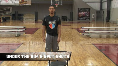 Under the Rim 6 Spot Shots by Smart Basketball Training