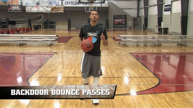 Back Door Bounce Passes by Smart Basketball Training