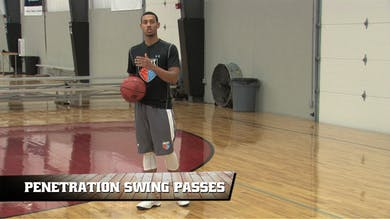 Penetration Swing Passes by Smart Basketball Training