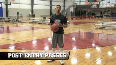 Post Entry Passes by Smart Basketball Training
