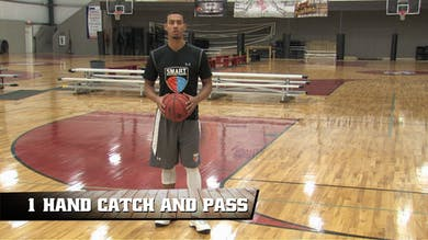 1 Hand Catch and Pass by Smart Basketball Training