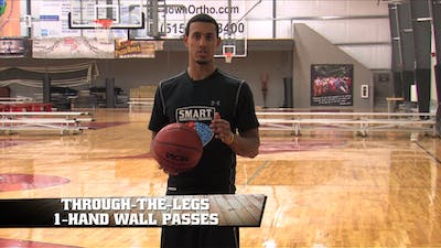 Instant Access to Through the Legs 1 Hand Wall Passes by Smart Basketball Training, powered by Intelivideo