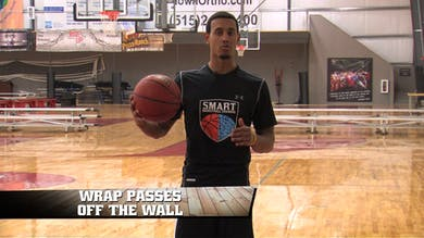 Wrap Passes off the Wall by Smart Basketball Training