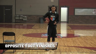 Opposite Foot Finishes by Smart Basketball Training