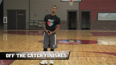 Off the Catch Finishes by Smart Basketball Training