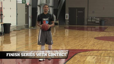 Finish Series with Contact by Smart Basketball Training