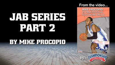 Instant Access to Jab Series Part 2 by Smart Basketball Training, powered by Intelivideo