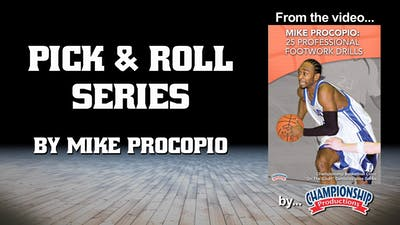 Instant Access to Pick & Roll Series by Smart Basketball Training, powered by Intelivideo