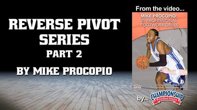 Instant Access to Reverse Pivot Series Part 2 by Smart Basketball Training, powered by Intelivideo