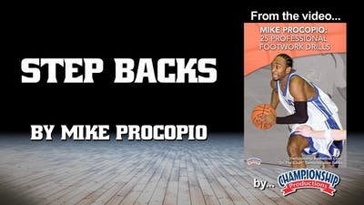 Instant Access to Step Backs by Smart Basketball Training, powered by Intelivideo