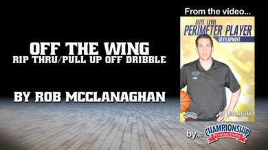 Off the Wing - Rip Thru/Pull Up Off the Dribble by Smart Basketball Training