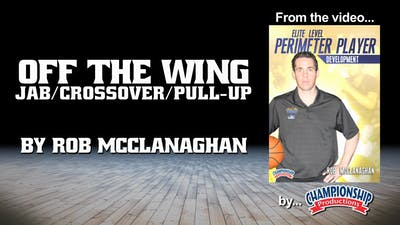 Off the Wing - Jab/Cossover/Pull Up by Smart Basketball Training