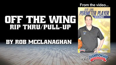 Off the Wing - Rip Thru/Pull Up by Smart Basketball Training