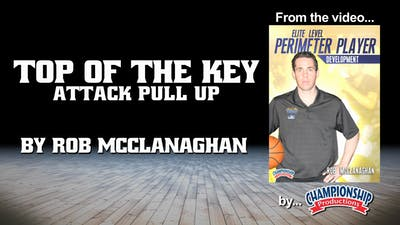 Top of the Key Attack Pull Up by Smart Basketball Training