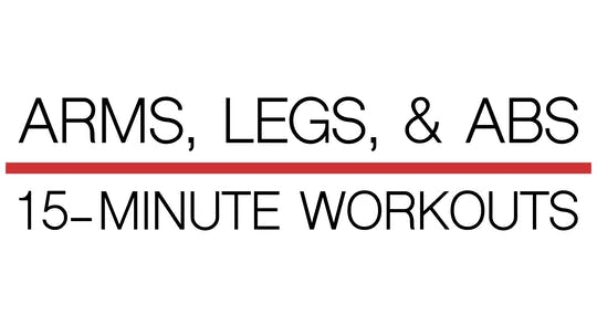 The Arms, Legs, & Abs 15-Minute Workouts by Robert Brace, powered by Intelivideo