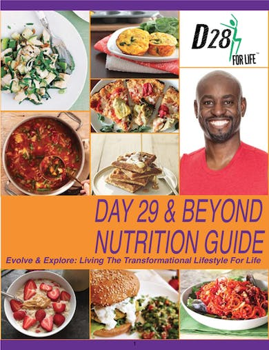 D28, D29 & Beyond Nutritional Guide by Robert Brace