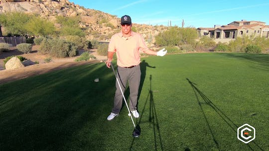 Instant Access to Playing a Hole Strategy: Carl's Tee Shot by eCoach, powered by Intelivideo