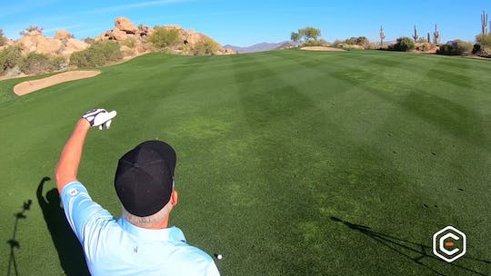 Instant Access to Playing a Hole Strategy - DP's 2nd Shot by eCoach, powered by Intelivideo