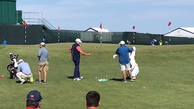 Steve Stricker Chipping Green Warm Up by eCoach