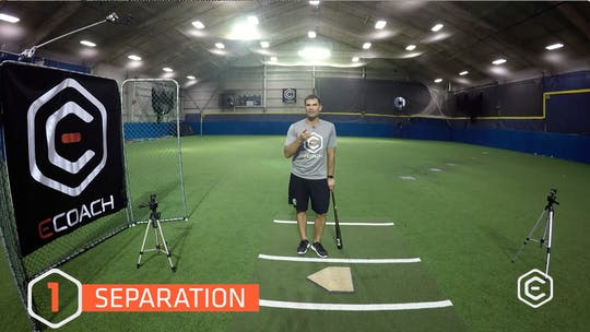 Instant Access to 1.3 Separation Tips/Drills by eCoach, powered by Intelivideo