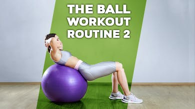 Ball Workout Routine 2 by Winsor Pilates