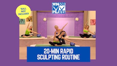 20-Minute Rapid Sculpting Workout Routine by Winsor Pilates