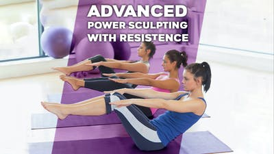 Power Sculpting with Resistance Advanced Routine by Winsor Pilates