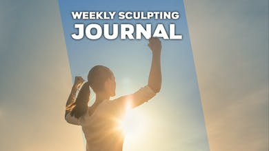 Weekly Sculpting Journal by Winsor Pilates