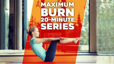 Maximum Burn 20 min Workout Routine by Winsor Pilates