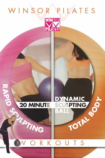 Rapid Sculpting Workout & Dynamic Sculpting Ball by Winsor Pilates
