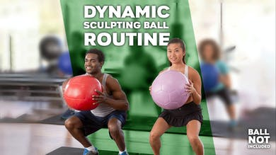 Dynamic Sculpting Ball Routine by Winsor Pilates
