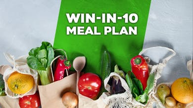Win-In-10 Meal Plan by Winsor Pilates