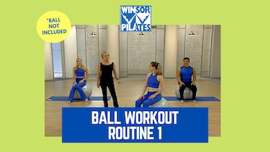 Ball Workout Routine 1 by Winsor Pilates
