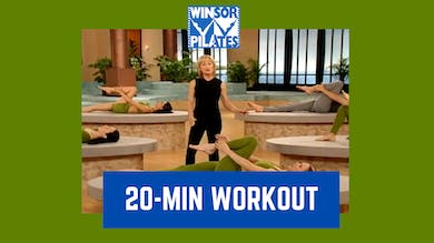 20 Minute Workout Routine by Winsor Pilates