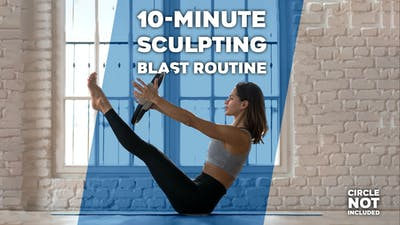 10-Minute Sculpting Blast Routine by Winsor Pilates